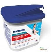 Cloro Multiacción Astral. 5 kg. en pastillas-tabletas.